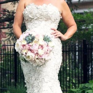 Faragé DESIGNER wedding gown